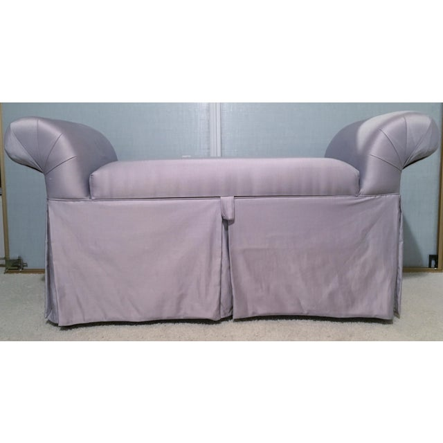 Purple Lavender Chaise Lounge Chair/Bench For Sale - Image 8 of 8