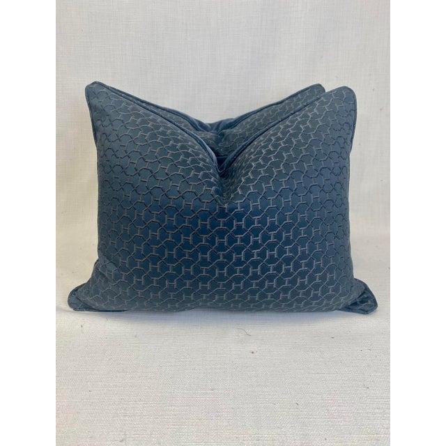 """2020s Hermès """"Quartz in Universe"""" 16""""x20"""" Pillows-A Pair For Sale - Image 5 of 5"""