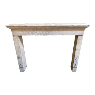 Antique French Mantel, circa 1780 For Sale