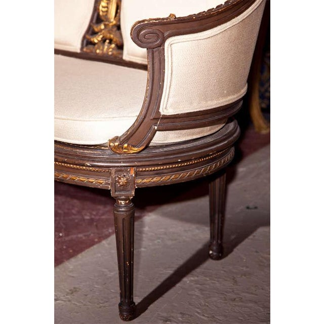 Louis XVI Canape Signed Guillaume Grohe For Sale In New York - Image 6 of 7