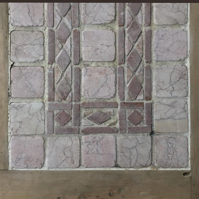 19th Century Spanish Table With Marble Tiles For Sale - Image 4 of 11