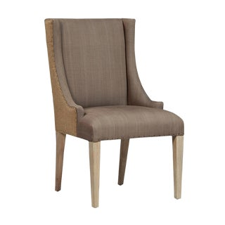 Burlap Back Dining Chair