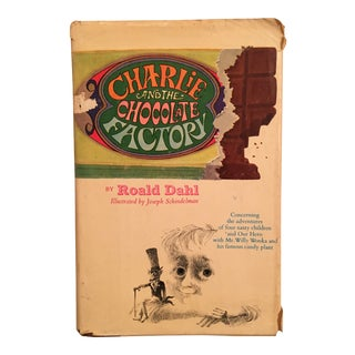 Charlie and the Chocolate Factory, Roald Dahl, First Edition Book For Sale
