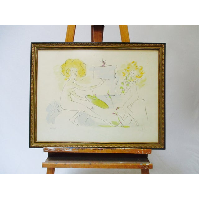 French Standing Wood Easel - Image 6 of 6