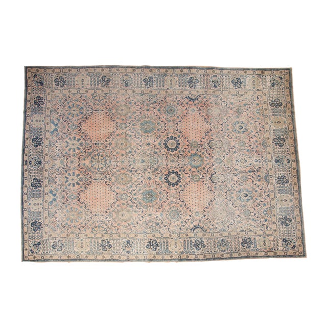 "Vintage Kashan Carpet - 10'1"" X 14'2"" - Image 1 of 10"