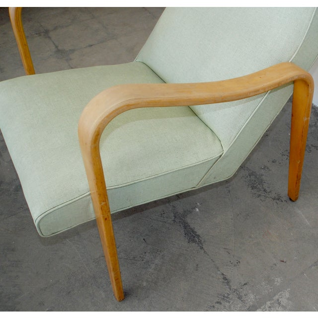 Thonet High Back Lounge Chair - Image 7 of 11