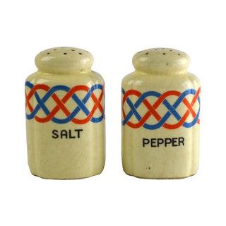 Ceramic Salt & Pepper Shakers - Pair