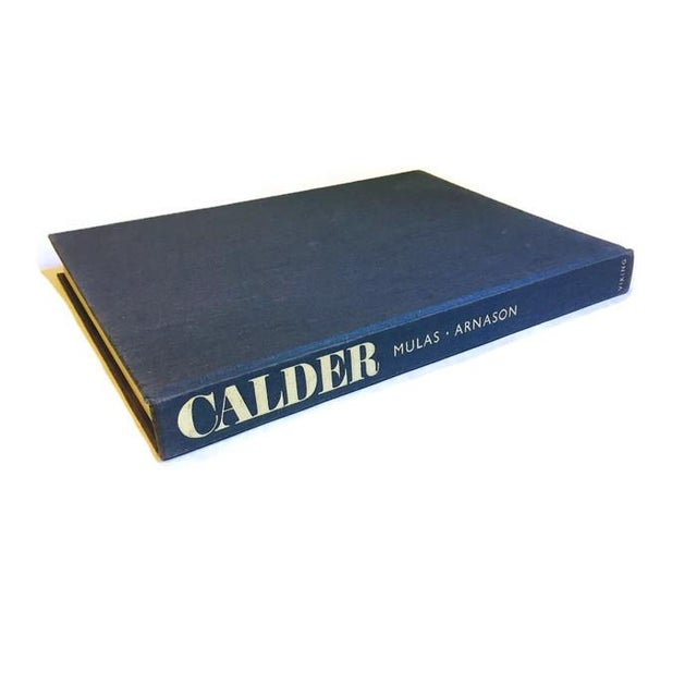 Danish Modern Mid Century Modern CALDER Coffee Table Book Art Photography Book For Sale - Image 3 of 6
