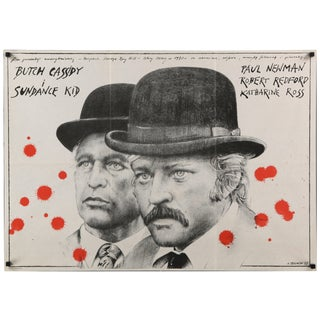 "Polish ""Butch Cassidy & the Sundance Kid"" Poster For Sale"