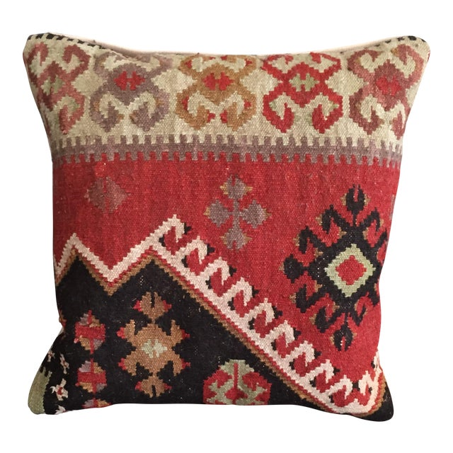 Pottery Barn Kilim Pillow - Image 1 of 7