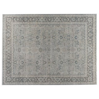 Stark Studio Rugs Traditional New Oriental 70% Wool/30% Cotton Rug - 8′ × 9′11″ For Sale