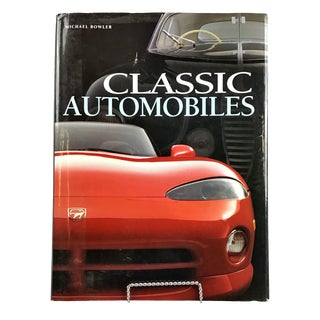 """Classic Automobiles"" Coffee Table Book by Michael Bowler For Sale"