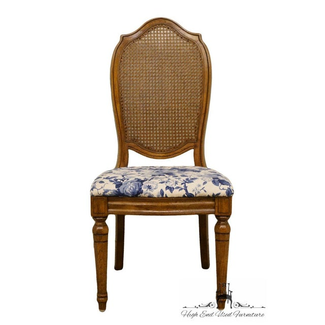 """Thomasville Furniture Tapestry Collection Cane Back Dining Side Chair 15221-861-862 40.25"""" High 19.75"""" Wide 22"""" Deep Seat:..."""