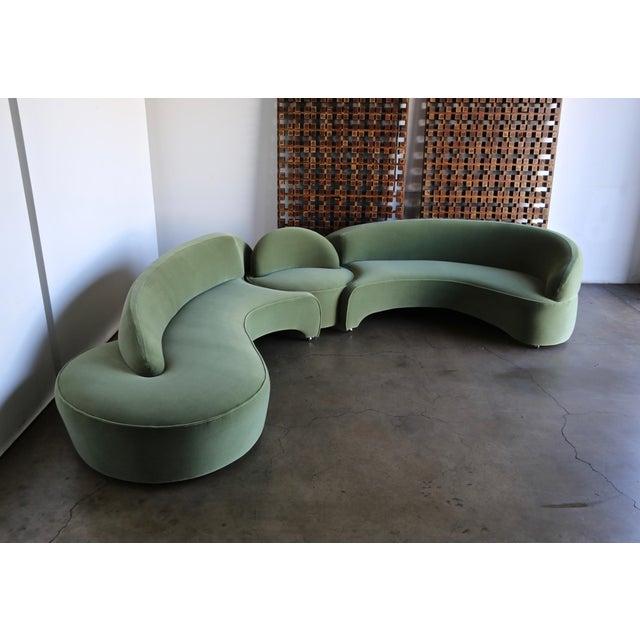 "Vladimir Kagan ""Comete"" Sofa for Roche Bobois, 2003 - Set of 3 For Sale - Image 13 of 13"