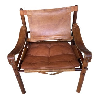 1970s Vintage Arne Norell Safari Chair For Sale