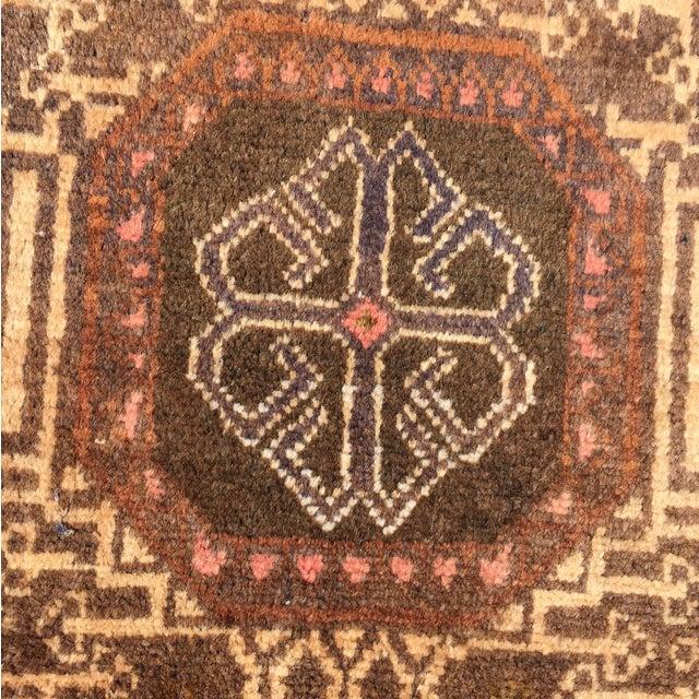 "Vintage Baluchi Persian Rug - 2'10"" x 4'1"" - Image 6 of 11"