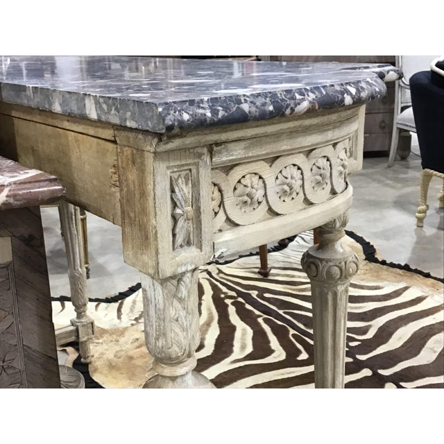 19th Century Louis XVI Style Console Table For Sale - Image 9 of 12