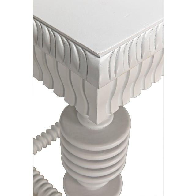 Portuguese Desk, Solid White For Sale - Image 12 of 13