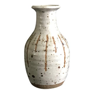 Harriet Herrick Mid Century Modern Pottery Vase For Sale