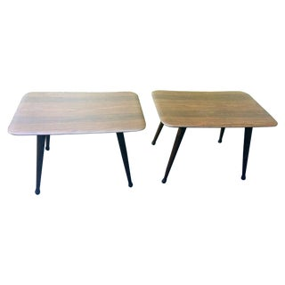Viko Baumritter End Tables - A Pair For Sale