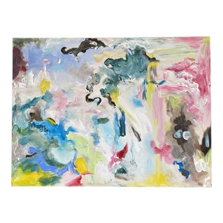 """Original Abstract Painting """"Wonderland"""" Painting by Lee Ten Hoeve For Sale"""