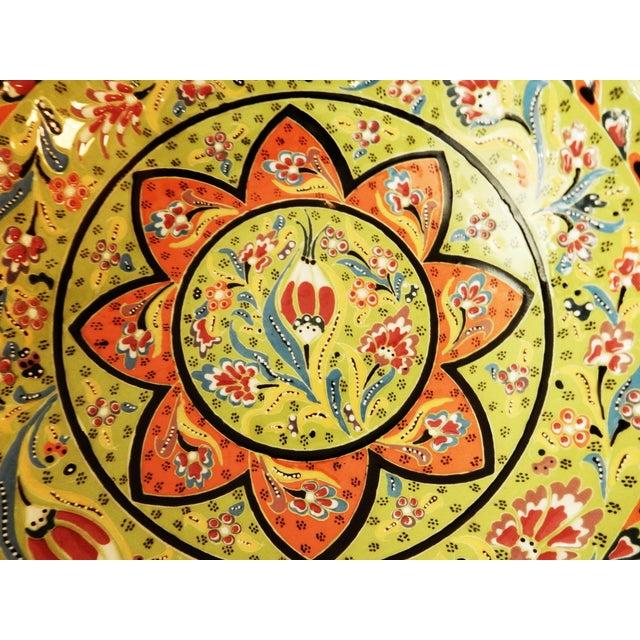 Turkish Hand Painted Ottoman Bowl - Image 7 of 10