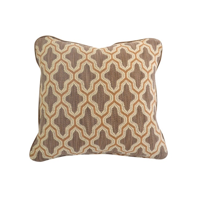 "Century Furniture Fabric Doeskin Pillow - 20"" x 20 - Image 1 of 4"