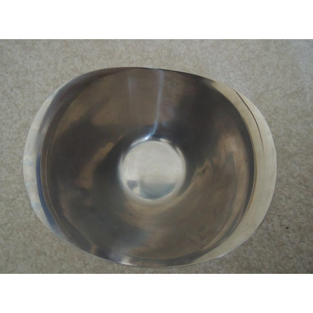 Mid 20th Century Stainless Steel Gravy Bowl For Sale - Image 5 of 7