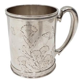 19th Century Tiffany & Co. Sterling Silver Cup C.1881 For Sale