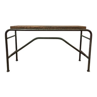 Vintage Industrial Sofa Table