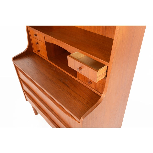Danish Modern Secretary Bookcase - Image 7 of 10