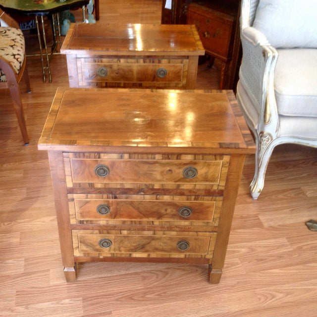 Pair of Italian Chair Side Chests For Sale In West Palm - Image 6 of 13