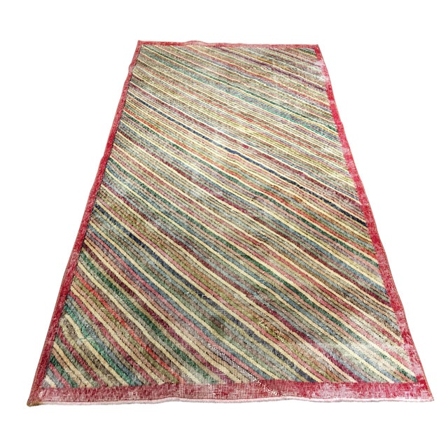 "Zeki Muran Turkish Rug - 3'11"" x 8'4"" - Image 1 of 8"