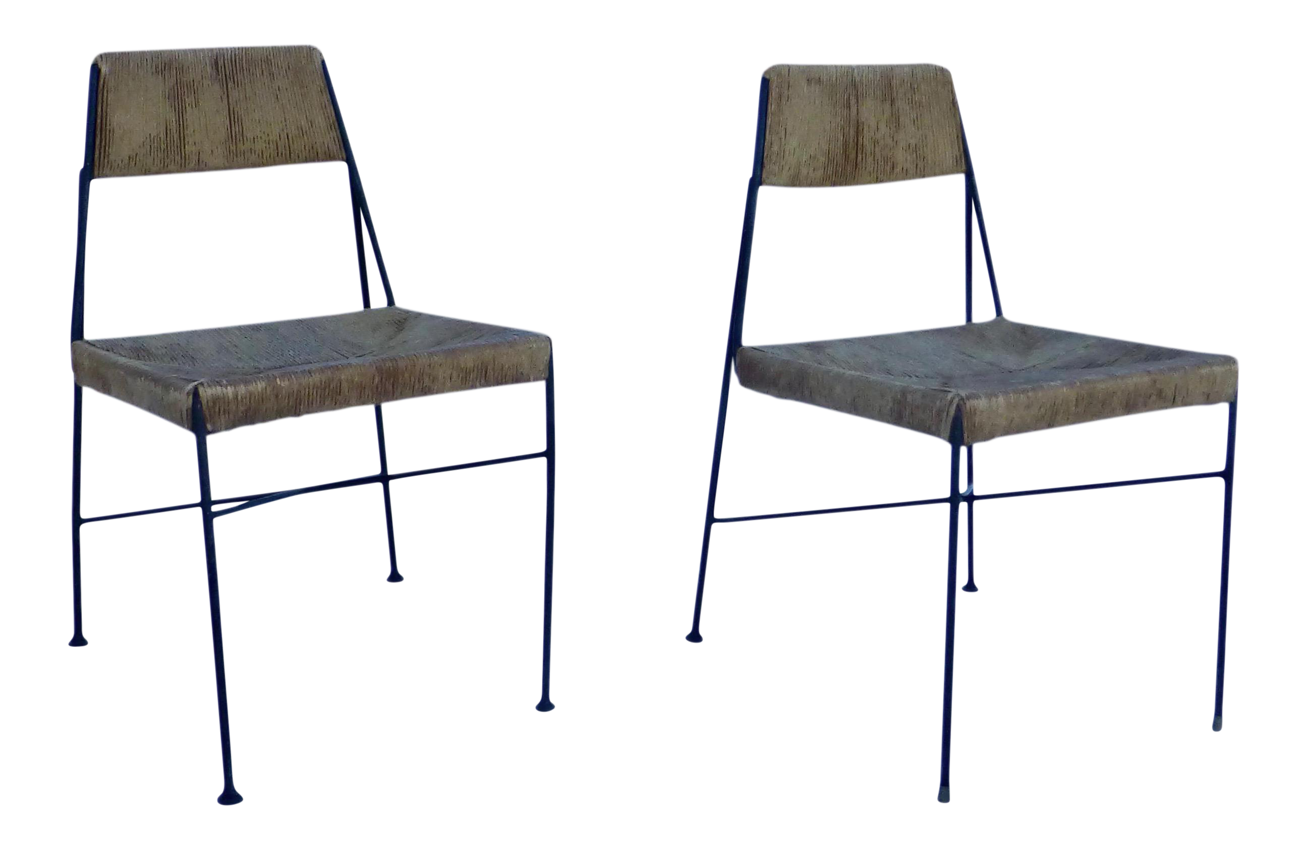 Genial Mid Century Luther Conover Chairs   A Pair