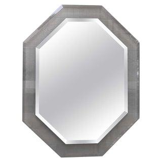 1980s Vintage Octagonal Mirror