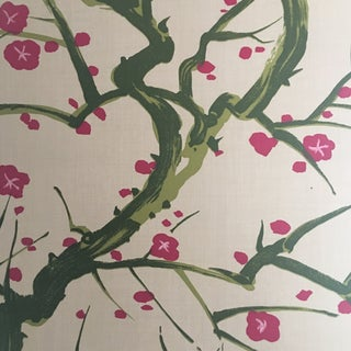 Clarence House Flowering Quince Wallcovering For Sale