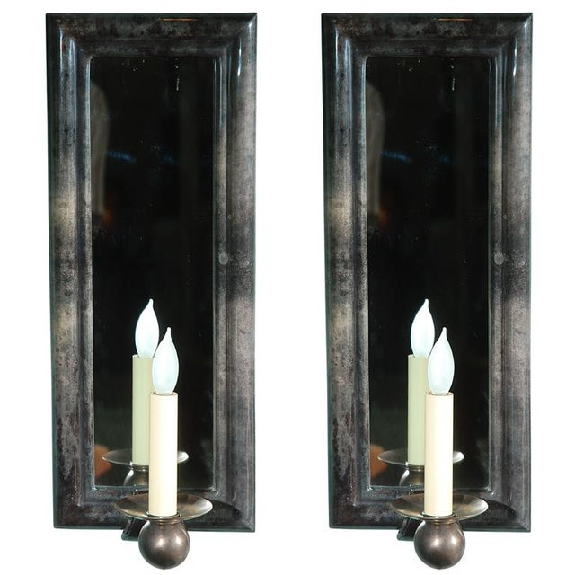 Parchment Wall Sconces - A Pair For Sale In Los Angeles - Image 6 of 6