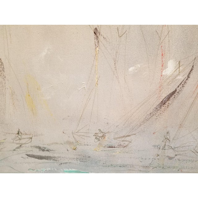 Pascal Cucaro Pascal Cucaro Large-Scale Abstract Expressionist Oil Painting For Sale - Image 4 of 9