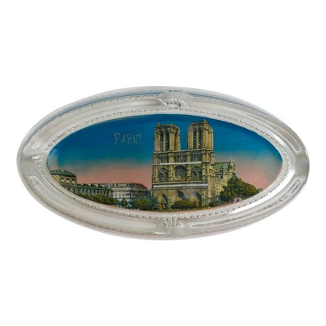 1940s Paris Souvenir Ashtray For Sale