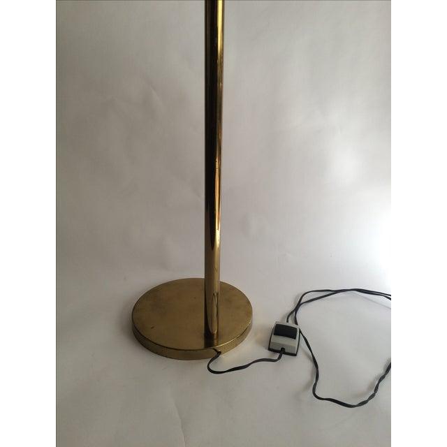 Koch + Lowy Brass Floor Lamp - Image 7 of 9