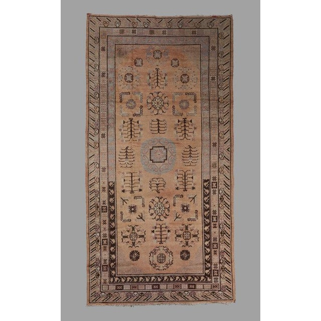 Traditional Khotan Carpet For Sale - Image 3 of 3