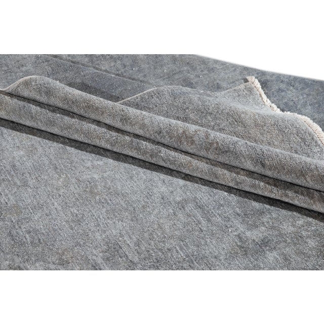 Contemporary 21st Century Modern Overdyed Rug For Sale - Image 3 of 13