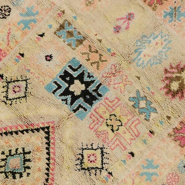 Vintage Berber Moroccan Rug With Bohemian Postmodern, 5'9 X 11'7 For Sale In Dallas - Image 6 of 10