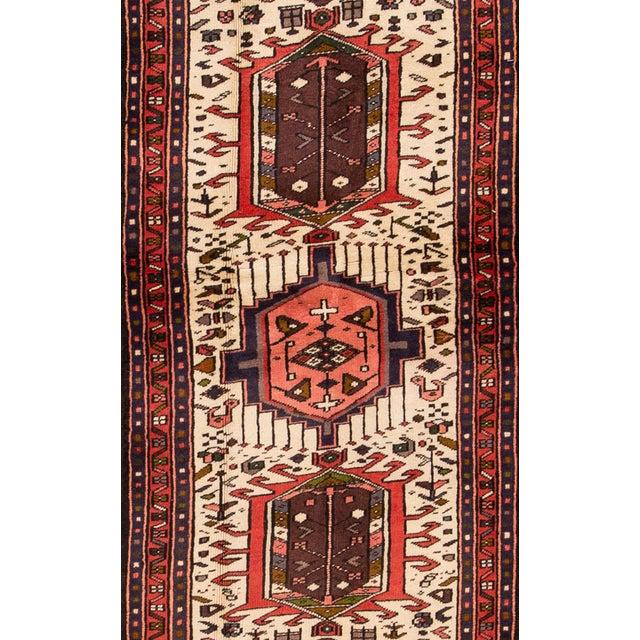 "Apadana - Vintage Persian Heriz Rug, 2'1"" x 6'7"" For Sale - Image 4 of 5"