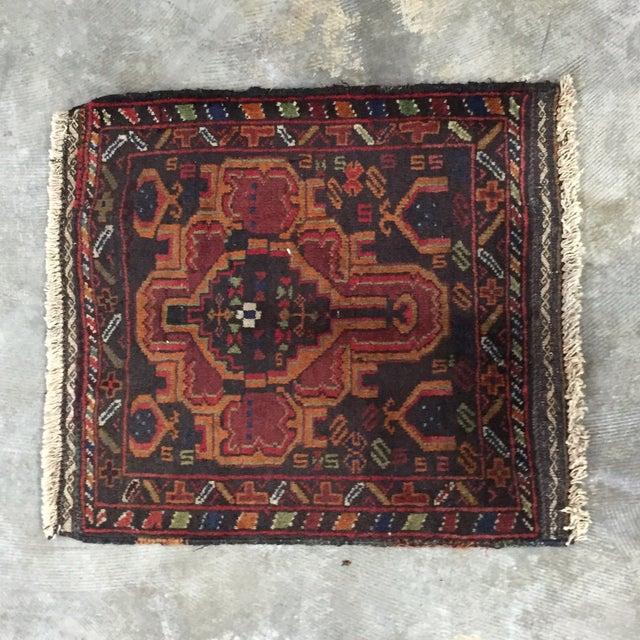 Vintage Balluchi Persian Rug - 1'8 x 1'11 - Image 2 of 10