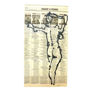 Drawing of French Model For Sale