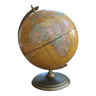 "Mid 20th Century Cram's Imperial 12"" World Globe For Sale"