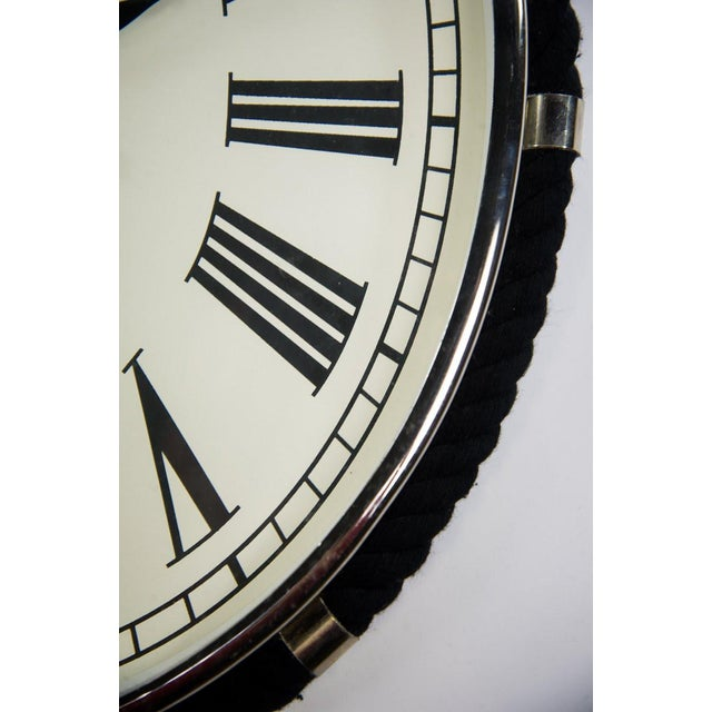 2000s Oval Colmore Wellington Wall Clock For Sale - Image 5 of 7