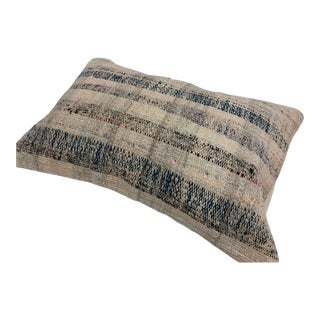 Vintage Traditional Turkish Anatolian Kilim Pillow For Sale