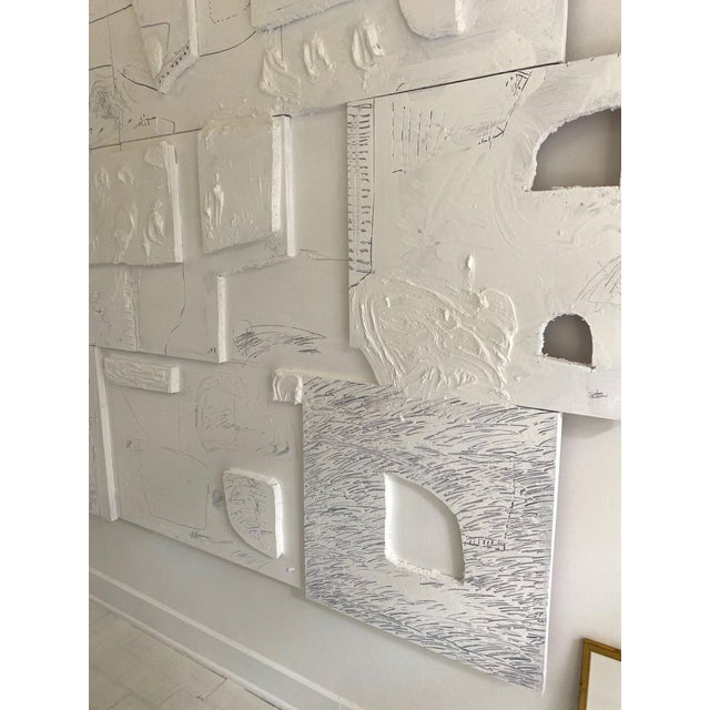 2010s Monumental Contemporary Mixed Media Painting XIII by William McLure For Sale - Image 5 of 7